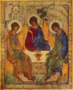 The Holy Trinity Andrew Rublev 001